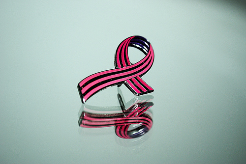 Breast cancer reflection by williami5, on Flickr